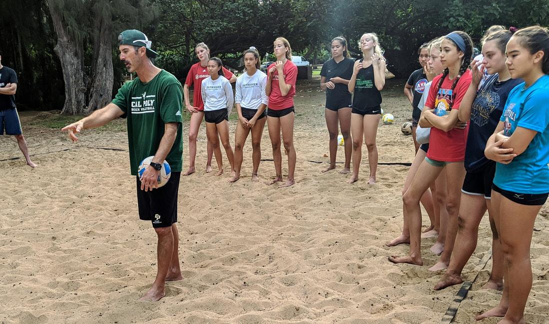 Aloha Volleyball