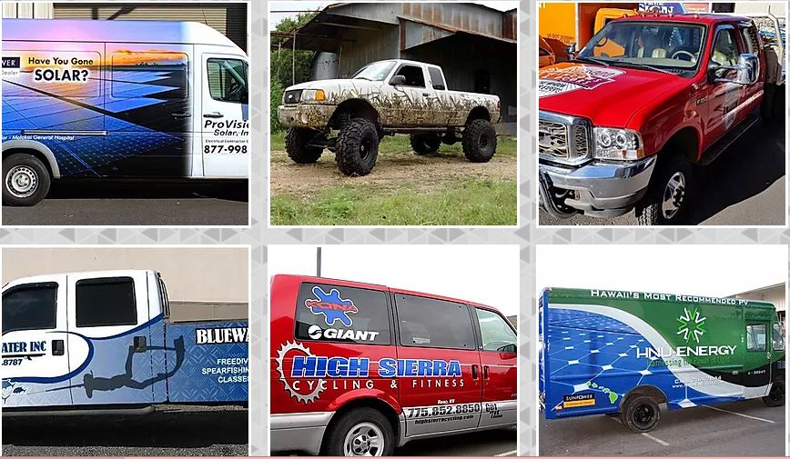 Speedy Graphics Maui, Vehicle Wraps, Designs, Installations, Banners & Decals