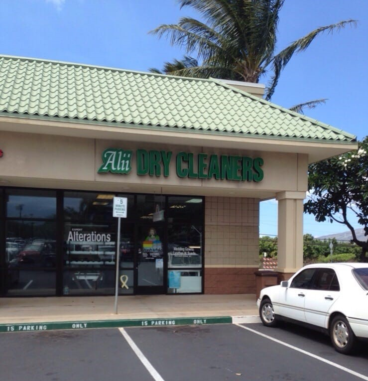 Alii Dry Cleaners – Kihei