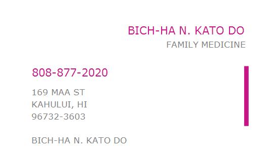 Bichha N. Kato, DO
