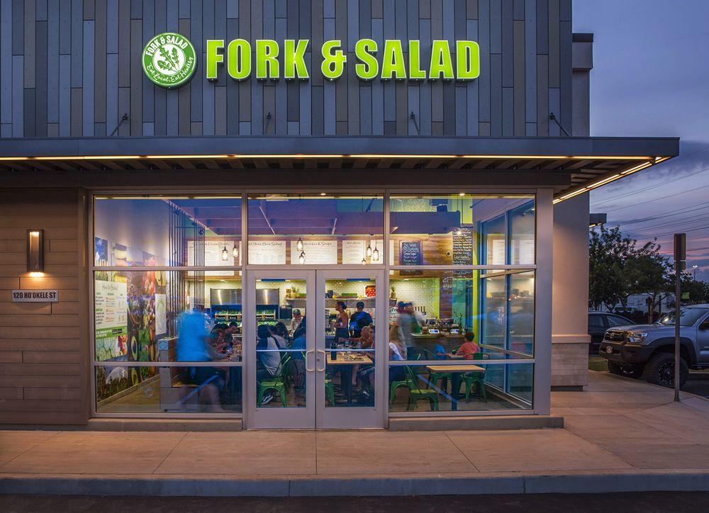 Fork and Salad – Kahului