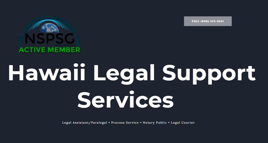Hawaii Legal Support Services