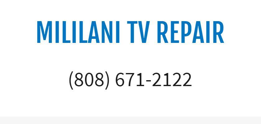 Mililani TV Repair